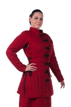 Women's gambeson (not historically accurate, but apparently a great design for both mobility and protection)