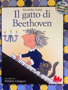 """Piccoli Viaggi Musicali: Inno alla Gioia (3): Libro di lettura, """"IL GATTO D... Montessori, Canti, Music Station, Flipped Classroom, Music Lessons, Book Cover Design, Counseling, Activities For Kids, Musicals"""