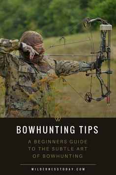 Just starting out in the world of bowhunting? Our Beginner's guide will start you off on the right track for a successful bowhunting expedition.