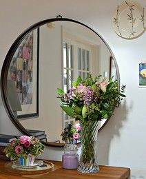 gilded round mirrors - Google Search