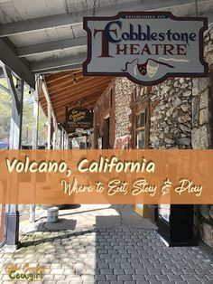 For such a small hamlet, Volcano, CA, has a surprising number of places to eat, sleep and play. Here's the rundown to help you visit Volcano like a local.