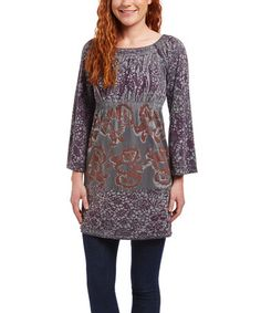 $29.99 Loving this Excalibur Sublimation Empire-Waist Tunic on #zulily! #zulilyfinds