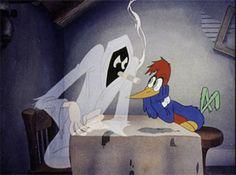 Woody Woodpecker (Pica-Pau) / 1940 / Walter Lantz Productions #cartoons