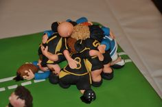 Rugby Birthday cake!
