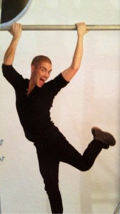 You CANNOT scroll past @MaxTheWanted doing the ballerina!!!!