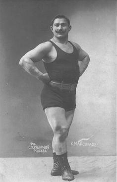 vintage strongman - Google Search