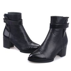 Winter Casual Purity Women's Shoes Boots Martin Boot DSH-350423 - TinyDeal