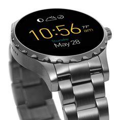 Q Marshal ist unsere Smartwatch für jeden Tag, die sich drahtlos mit Deinem Smartphone verbindet. Die technisch hochentwickelte Uhr aus Edelstahl ist mit Touchscreen, dem brandneuen Android Wear™ 2.0, interaktiven und individuell einstellbaren Zifferblättern (für Infos auf einen Blick), benutzerfreundlichem Messaging und automatischem Aktivitätstracking ausgestattet. Die Fossil Q Marshal wird betrieben mit Android Wear™ 2.0 und ist mit Smartphones mit Betriebssystem Android™ 4.3+ oder iOs…