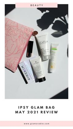 My Ipsy bag was a bit minimalist this month. Did you like yours? Monthly Subscription, Subscription Boxes, Ipsy Glam Bag, Beauty Advice, Foundation Brush, Damp Hair Styles, Combination Skin, Matte Lips, Colorful Makeup