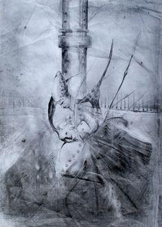 "Saatchi Art Artist R O M A N O Z; Drawing, ""Bakers"" #art"