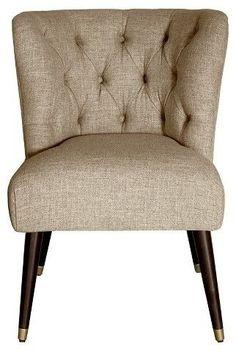 Nate Berkus Curved Slipper Chair - Nate Berkus #affiliate
