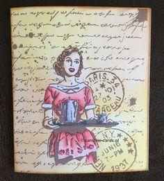 Caroline Cards: #JoyCrafts Old letter