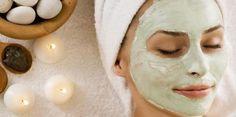 maschere per il viso all'argilla verde bianca rossa e rosa