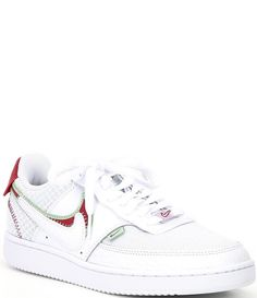 Nike Shoes, Sneakers Nike, Nike Swoosh Logo, Dillards, Leather Shoes, Nike Women, Latest Trends, Lace Up, Style Inspiration