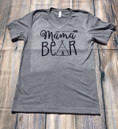 Custom Designed Mama Bear Tee – Southern Mess Boutique
