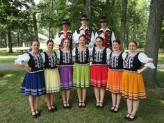 Folk Costume, Costumes, Folk Dance, Moldova, Hungary, Romania, Poland, Group, Decor