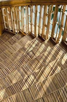 Bamboo steps | Tips for bamboo | Green Village Bali, IDEA  | Photo credit   Adeline Krisanti