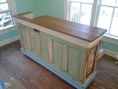 Retail Store Counter, Reception Desk, Point of Sale Counter , Cash and Carry , Wrapping Station Custom Made Cash Counter, Retail Counter, Store Counter, Vintage Doors, Point Of Sale, Store Fixtures, Store Displays, Retail Displays, Window Displays