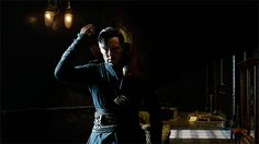 I'M SORRY BUT if this isn't sexy idk what is [GIF] DOCTOR STRANGE (2016) ~ Benedict Cumberbatch. Trailer 2.