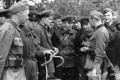 Soldiers of Wehrmacht and Red Army 20 September 1939 [