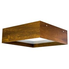 Line Frame Square Ceiling Light Fixture   Lightology Collection at Lightology