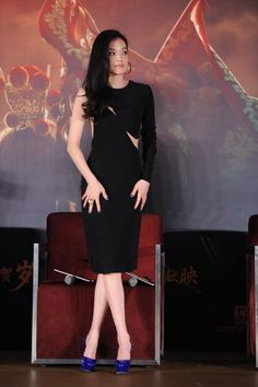 Fabulously Spotted: Shu Qi 舒淇 Wearing Stella McCartney   Journey to the West Press Conference