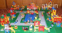 LEGO Fabuland állatváros, legó terepasztal! Big Vintage Lego Fabuland - 30 sets!