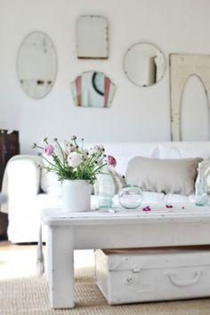 white white white living room