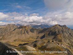 Aussicht vom Gipfel des Le Piolit (auf 2464m Höhe) in den Dauphiné Alpen, Hautes-Alpes, Frankreich - Foto: Mario Hübner