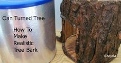 Update! 02/03/2015 I made more bark last year and this year then decided to u pdate my video tutorial. So click here  to view the u...