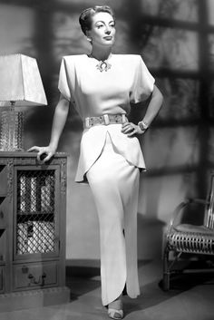 Joan Crawford in Humoresque, costumes designed by Gilbert Adrian (1946)
