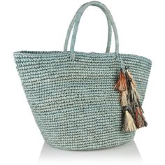 Sensi Studio Maxi woven toquilla straw tote (8.420 RUB) via Polyvore featuring bags, handbags, tote bags, beach tote, tote purses, straw handbags, colorful tote bags и tote handbags