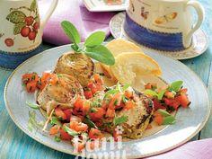 Grillowane mięsiwa z pomidorową salsą
