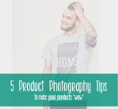 5 photography tips for products - 5 product photography tips - take better product photos - to make your products WOW: http://blog.aftcra.com/blog/5-product-photography-tips-to-make-your-products-wow/