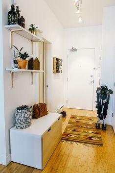 Visite d'un petit appartement optimisé pour accueillir un heureux événement... Direction Vancouver !
