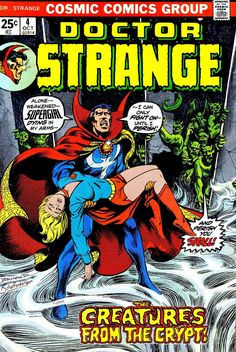 Supergirl and Doctor Strange