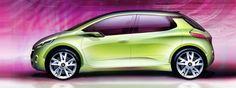 Design Sketch Peugeot 208 007