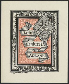 Más tamaños | Henrietta Jane Adeane by Harry Soane (1883) | Flickr: ¡Intercambio de fotos!
