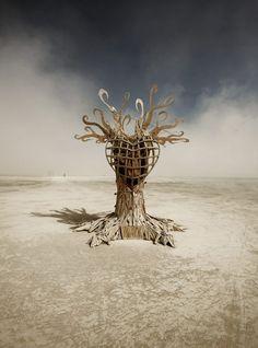 Burning Man Festival by Karidwan