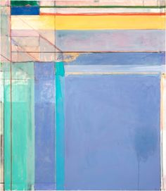Richard Diebenkorn, Ocean Park #79, 1975, oil on canvas, 93 x 81 inches. Philadelphia Museum of Art, Purchased with a grant from the National Endowment for the Arts and with funds contributed by private donors, 1977. ©The Richard Diebenkorn Foundation. Image courtesy the Philadelphia Museum of Art.