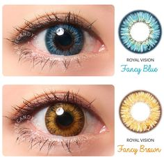 Mesmerizing 3-tone colored contact lenses from EyeCandy's. SHOP >> http://www.eyecandys.com/search.php?search_query=fancy&Search=