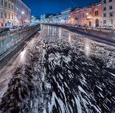 Ледяная Северная Венеция.Санкт-Петербург