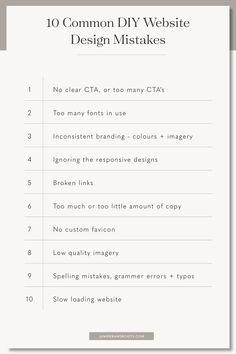 10 Common DIY Website Design Mistakes + How to Avoid Them — Juniper + Roots Custom Website Design, Website Design Layout, Web Design Tips, Web Design Trends, Design Layouts, Website Designs, Web Layout, Flat Design, App Design