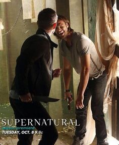 'Supernatural' Season 9: Jensen Ackles, Jared Padalecki Goofing Around as Sam and Dean Winchester in Another Released Promo Photo - Entertainment & Stars http://au.ibtimes.com/articles/505426/20130912/supernatural-season-9-jensen-ackles-jared-padalecki.htm#.UjE1rX_eJWn