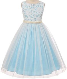 Flower Girl Floral Lace Top with Tulle Bottom Dress with Pearl Decorated Belt for Little Girl Blue 2 35.1 Aki_Dress http://www.amazon.com/dp/B01D0RFP2W/ref=cm_sw_r_pi_dp_UDTaxb087SQJW