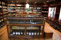 entire contents of Dr. Earl Mindell's Old-Time Pharmacy and apothecary museum