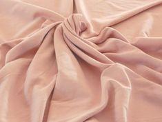 Tissu Molleton Vieux Rose - Mercerie en ligne - The Sweet Mercerie The Sweet Mercerie, Sewing, Fabrics