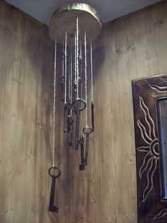 Brugnoni y Prado: Decoración con llaves antiguas