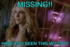 Missing!!  Have you seen this witch??  Poor Misty!  #AHS #Coven