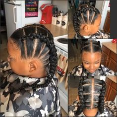 Toddler Hairstyles, Baby Girl Hairstyles, Natural Hairstyles For Kids, Natural Hair Updo, Kids Braided Hairstyles, Braided Updo, Protective Hairstyles, Protective Styles, Natural Hair Styles